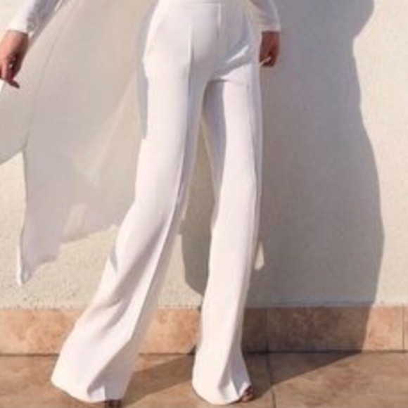 0e197cee Zara Pants | White Wide Leg From | Poshmark